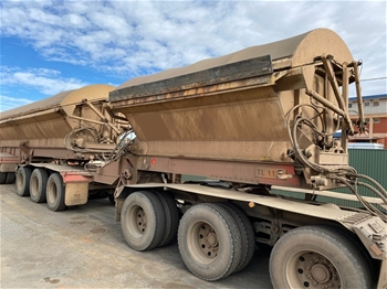 2009 Boomerang Triaxle Side Tipper 'A' Trailers