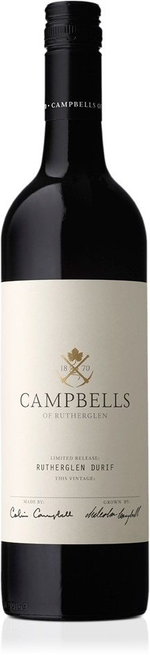 Campbells Rutherglen Durif 2018 (6x 750mL).