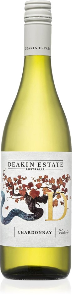 Deakin Estate Chardonnay 2019 (12x 750mL).