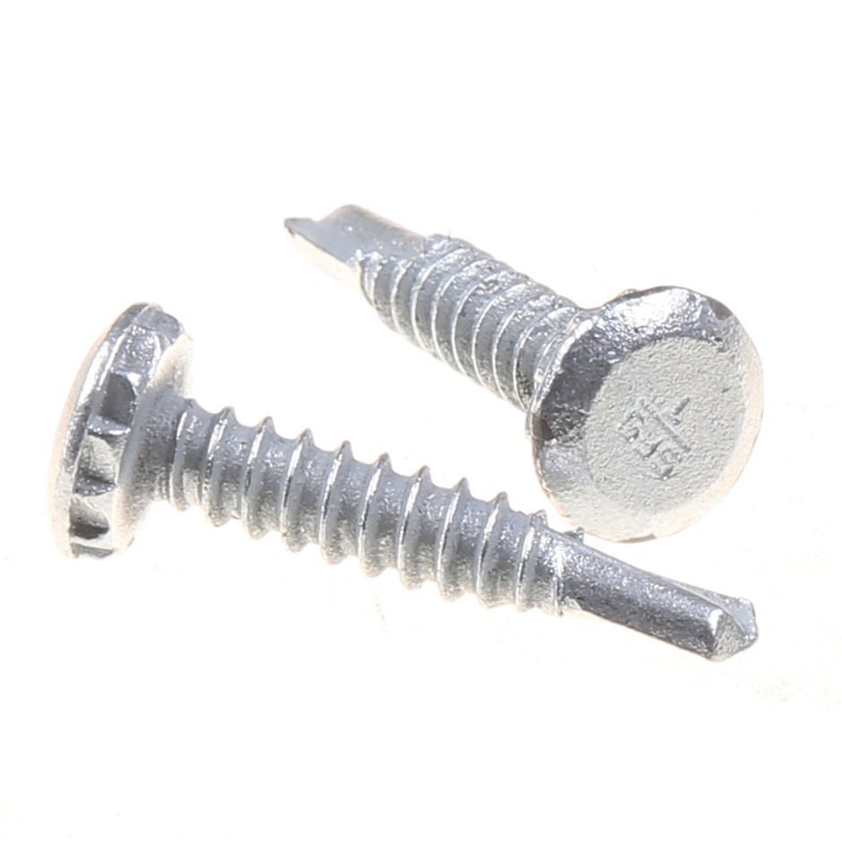 Pack of 250 x POWERS Self Drilling Metal Screws 28mm x 5.5mm with Low Head