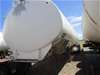 2008 Omega 6 Compartment Triaxle Trailer / Alloy Aviation Fuel Tanker