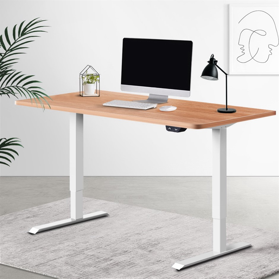 Artiss Standing Desk Motorised Sit Table Riser Height Adjustable Desks