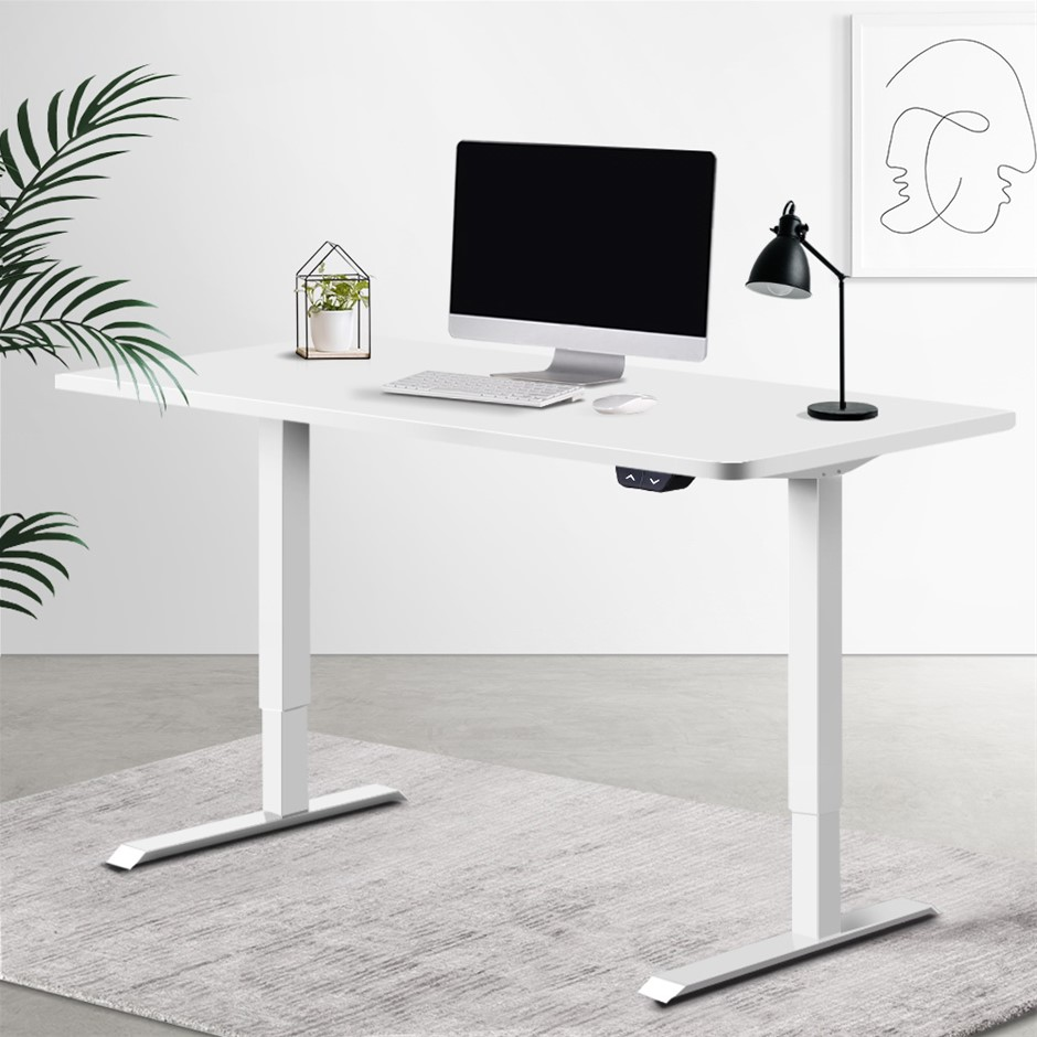 Artiss Standing Desk Sit Table Riser Motorised Height Adjustable Desks