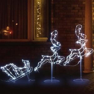Jingle Jollys Christmas Motif Lights LED