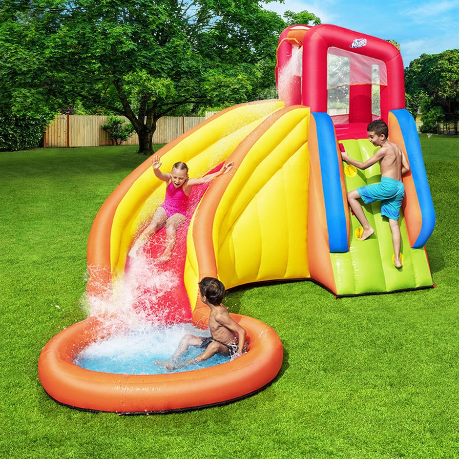 Bestway Inflatable Water Slide Park Jumping Castle Splash Pool Playground