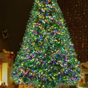 Jingle Jollys Christmas Tree LED 2.4M 8F