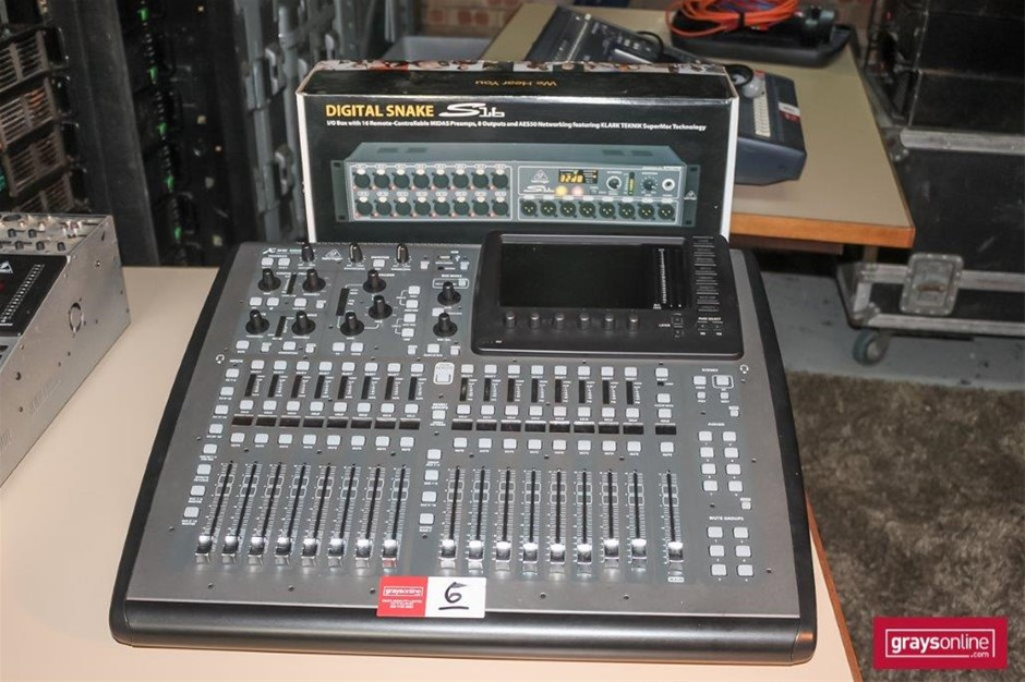 Behringer X32Compact 32 Channel Digital Audio Mixing Console