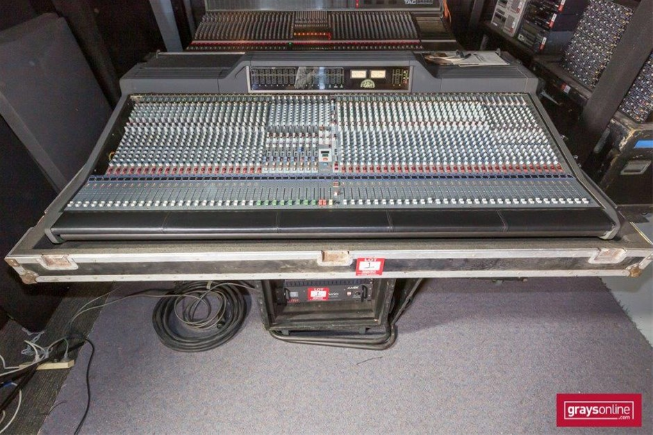 1996 AMEK Langley Recall 56 Channel Analogue Audio Mixing Console