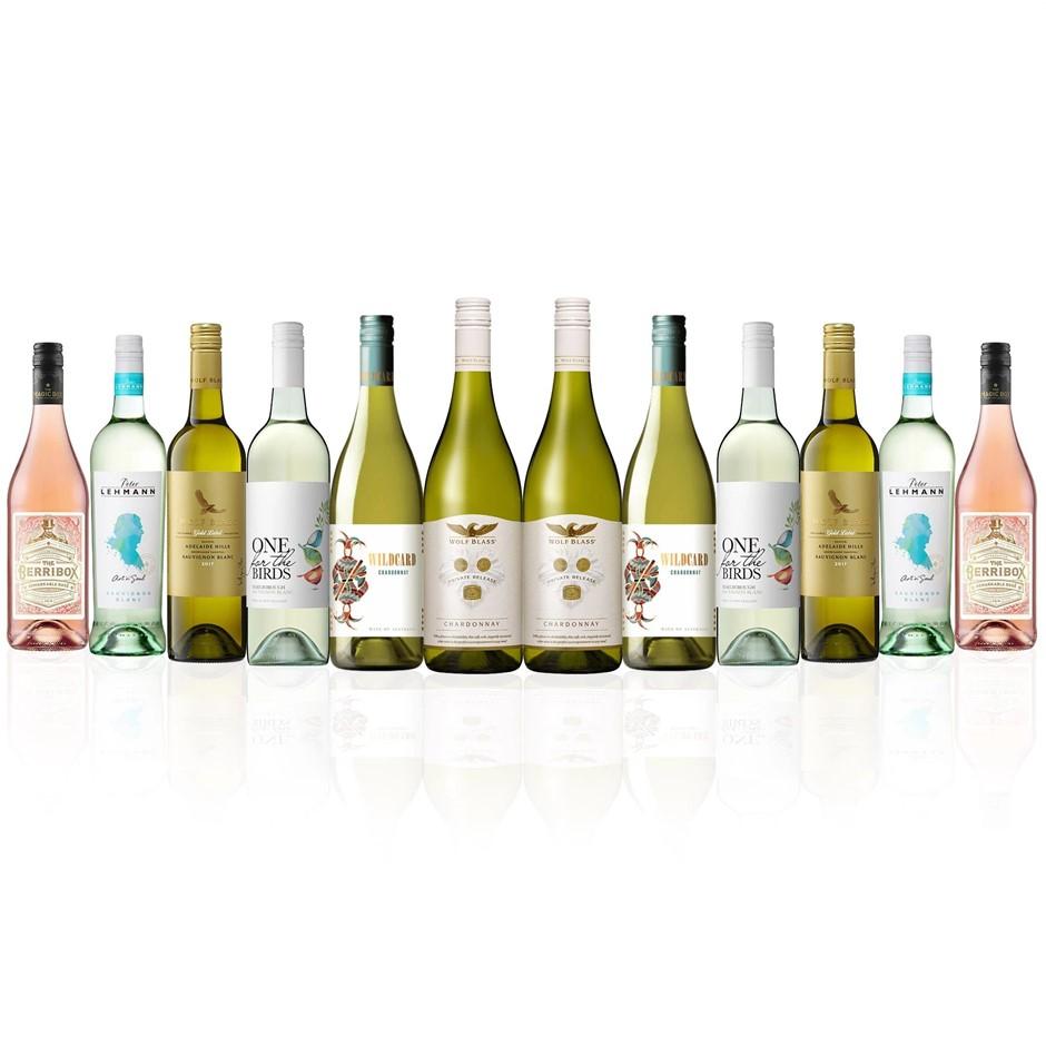 Premium Mixed White & Rosé Dozen (12x 750mL)