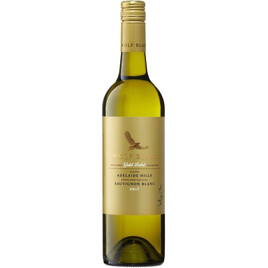 Wolf Blass Gold Label Sauvignon Blanc 2018 (12x 750mL)