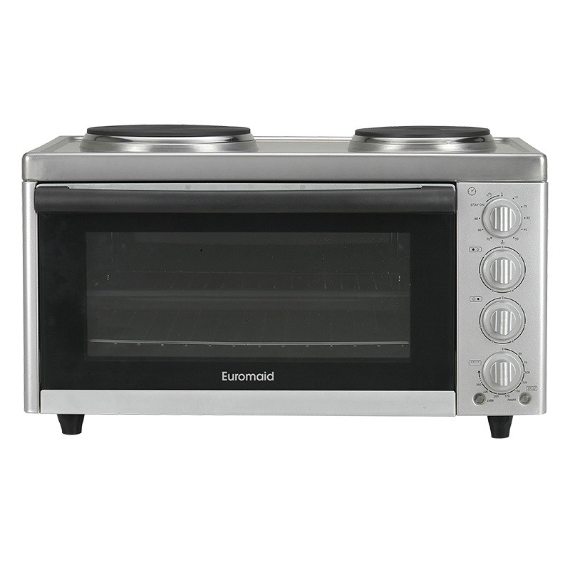 Euromaid Oven Grill + Solid Plate Cooktop (MC130T)