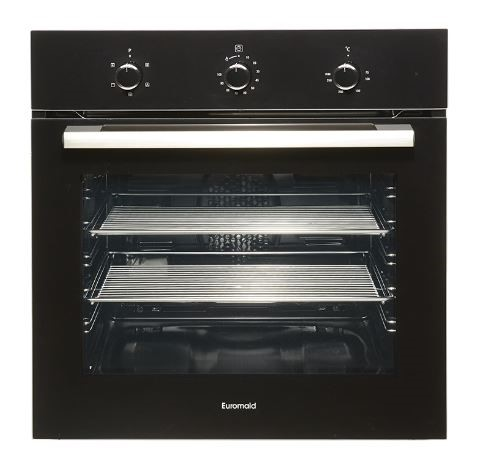 Euromaid 60cm Oven 5 Multifunction Double (T2-BS51)