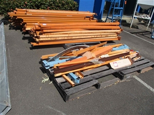 Large Qty Pallet Racking Components