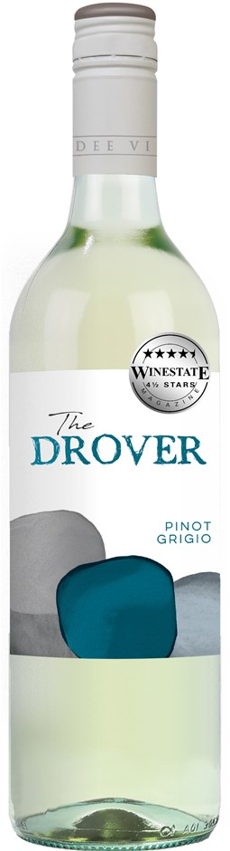 The Drover Pinot Grigio 2020 (12 x 750mL) SEA