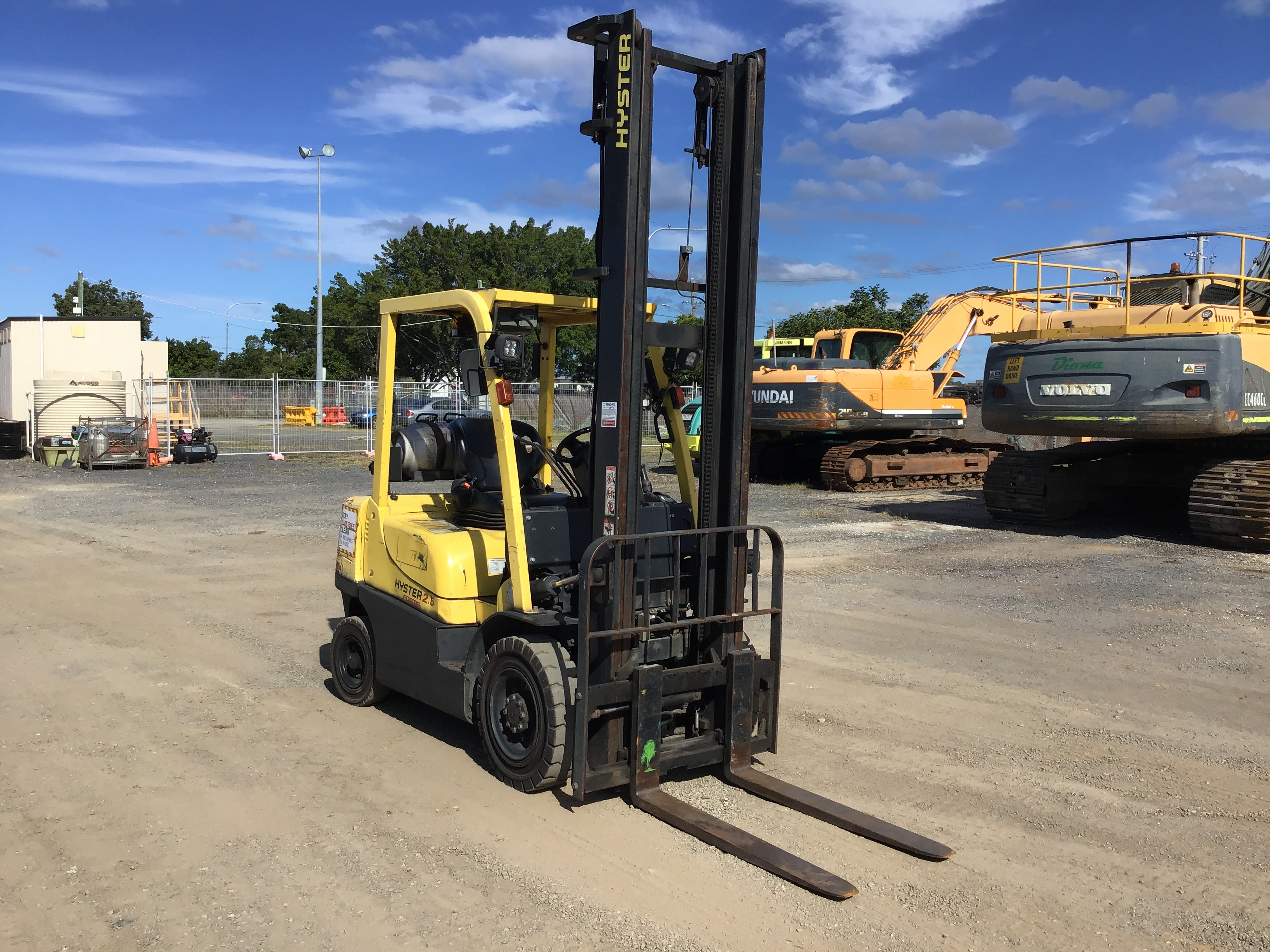 2011 Hyster H2.5TX EL (Ex Corp) Counterbalance Forklift