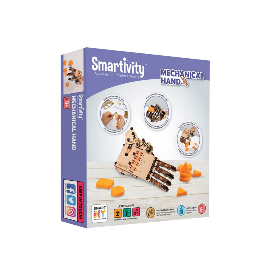 Smartivity Mechanical hand