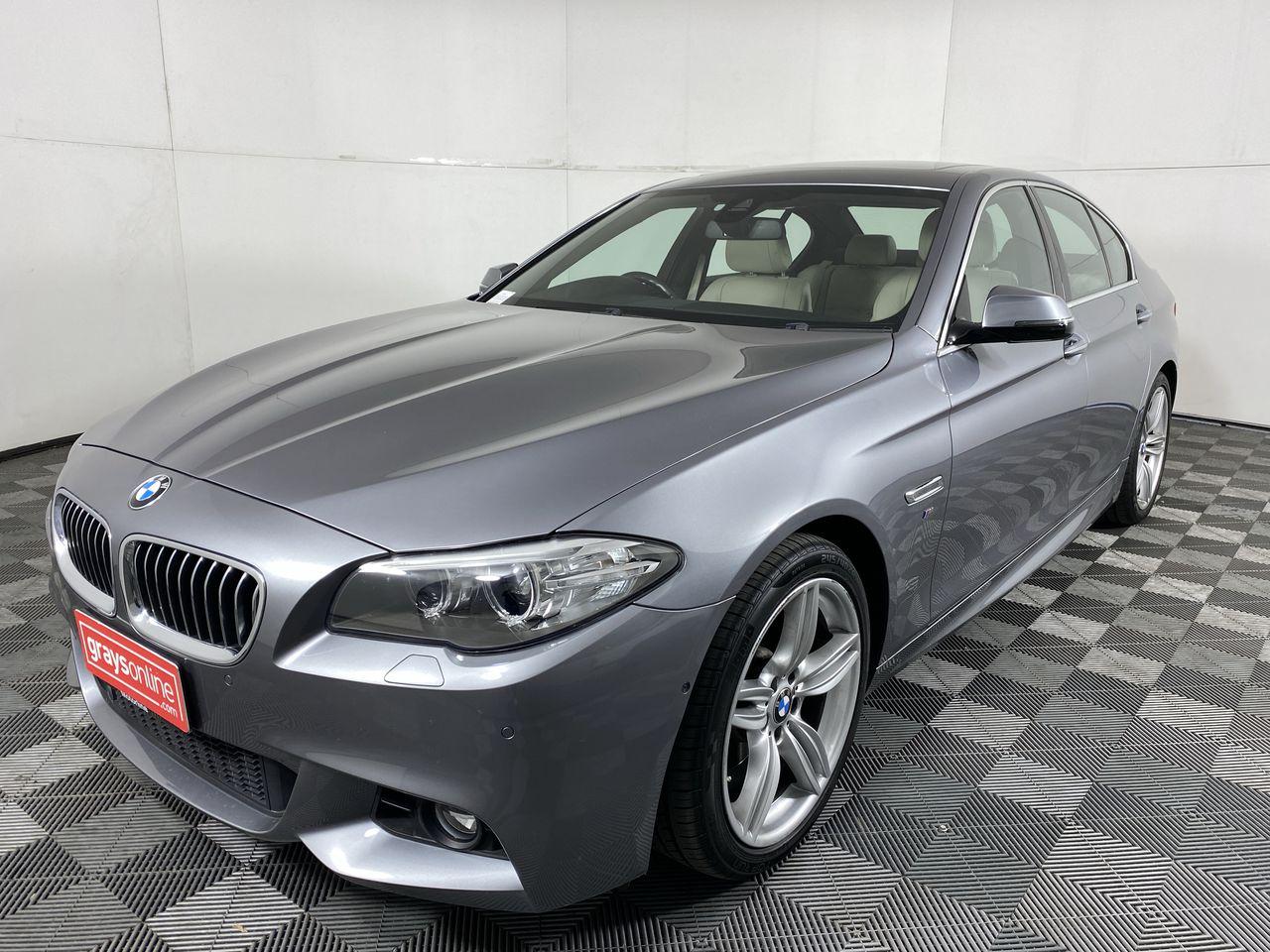2016 BMW 5 Series 520d M SPORT F10 LCI Turbo Diesel Auto - 8 Speed Sedan