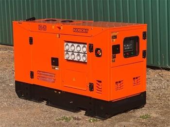 KOBOLT KB26 2020 Silenced 25 kVA Generator