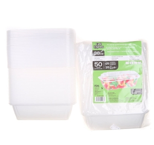 50 x CAFE EXPRESS Plastic Containers wit