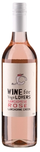 Wine For Yoga Lovers Sangiovese Rose 201