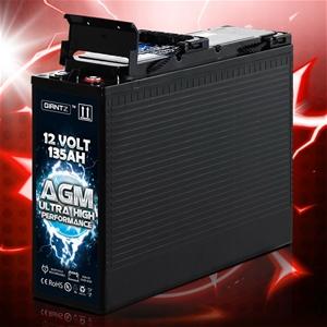 Giantz AGM Deep Cycle Battery 12V 135Ah