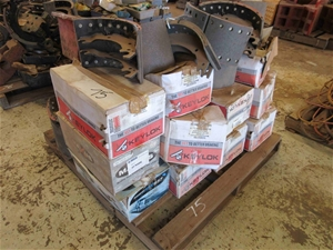 Pallet of Assorted Brake Shoes