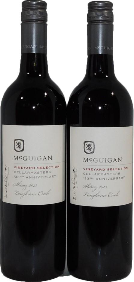 McGuigan Cellarmasters 33rd Anniversary Shiraz 2013 (2x 750mL), SA