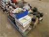 Pallet of Trailer Components Including