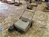 Work Shop Push Sweeper