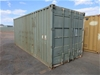 20ft Shipping Container (Green)