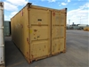 20ft Shipping Container (Yellow)