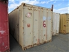 20ft Shipping Container (Cream)
