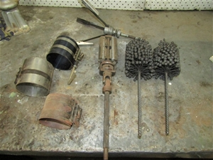 Engine Hones ring compressor