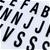Sherwood Rectangular Light Box Hand Writing - Black/White