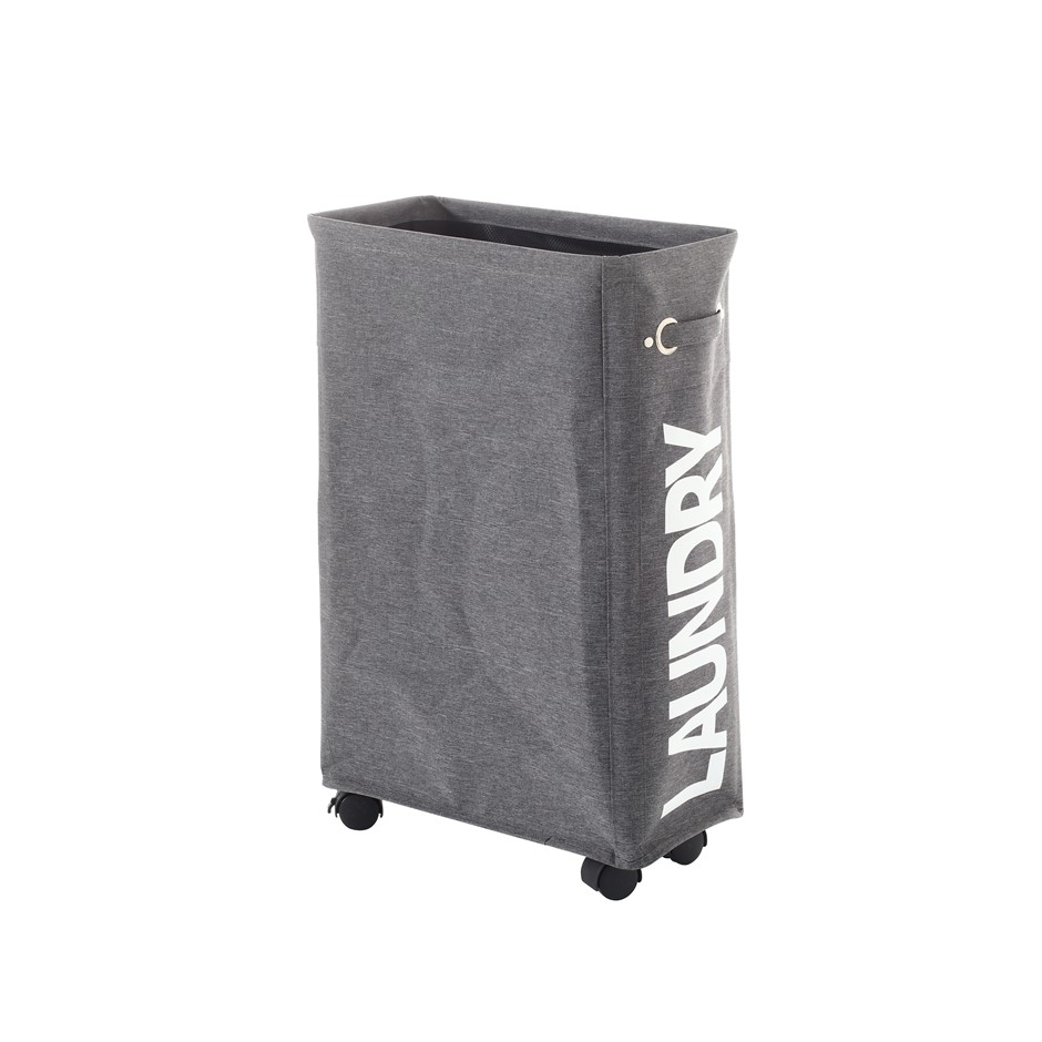 Sherwood Foldable Oxford Fabric Thin Laundry Bag with 4 Wheels