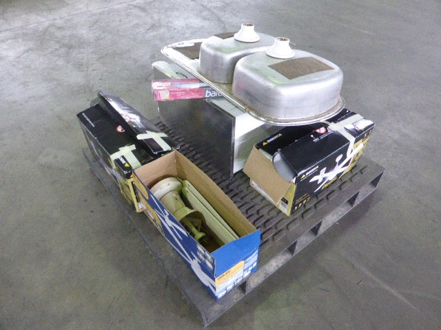 Ceiling Fans, Kitchen Sink, Storage Trolley & More (Pooraka, SA)