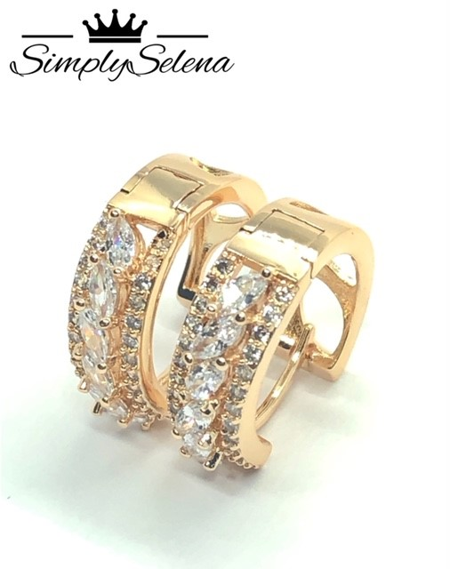 18k Gold Plated Earrings by SimplySelena Summer Collection.