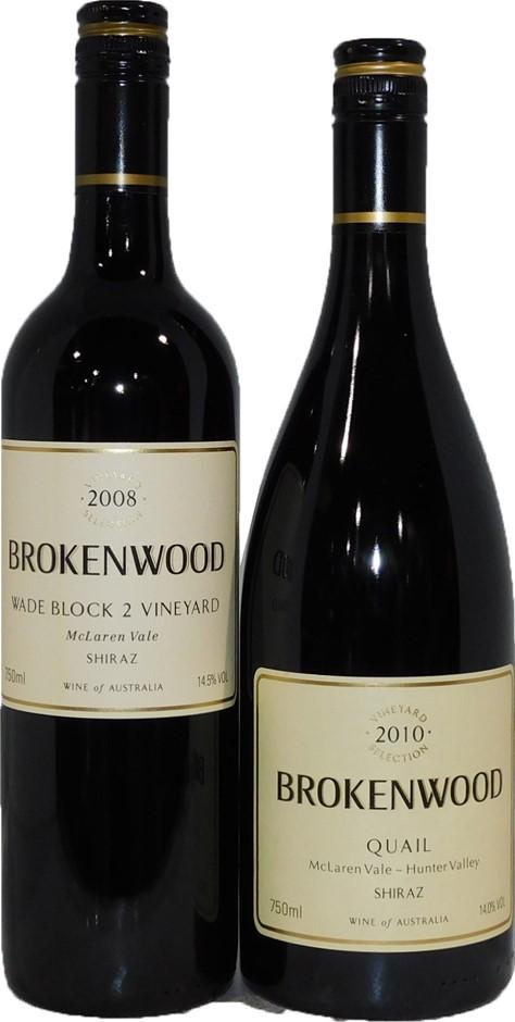 Brokenwood Shiraz Mixed Pack (2x 750mL), McLaren Vale, SA