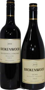 Brokenwood Shiraz Mixed Pack (2x 750mL),