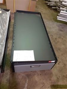 Sliding Drawer Storage System with Shelf