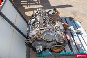 Perkins RE37858 Diesel Motor on Pallet