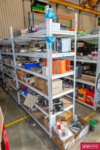 6x Adjustable Shelving Unit