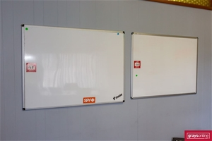 3x Magnetic White Board