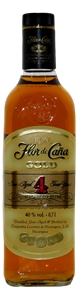 Ron Flora de Cana Gold Rum NV (1x 700mL)