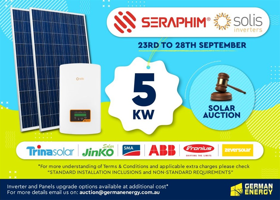 5 KW Solar PV System with Standard Installation Inclusions