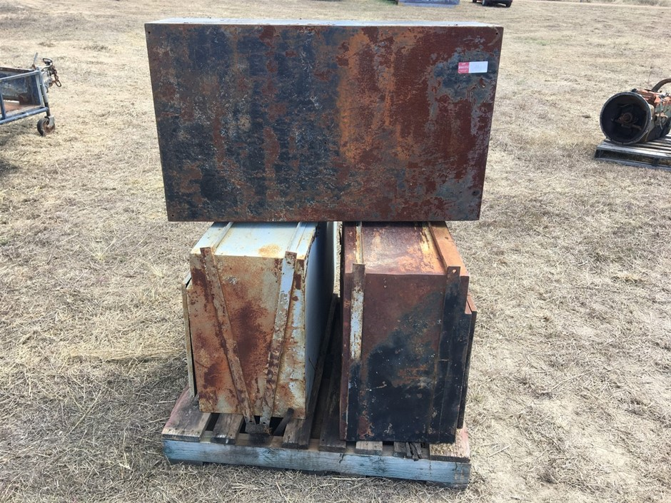 3 x Used Toolboxes