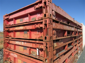 20' & 40' Flat Rack Sea Containers