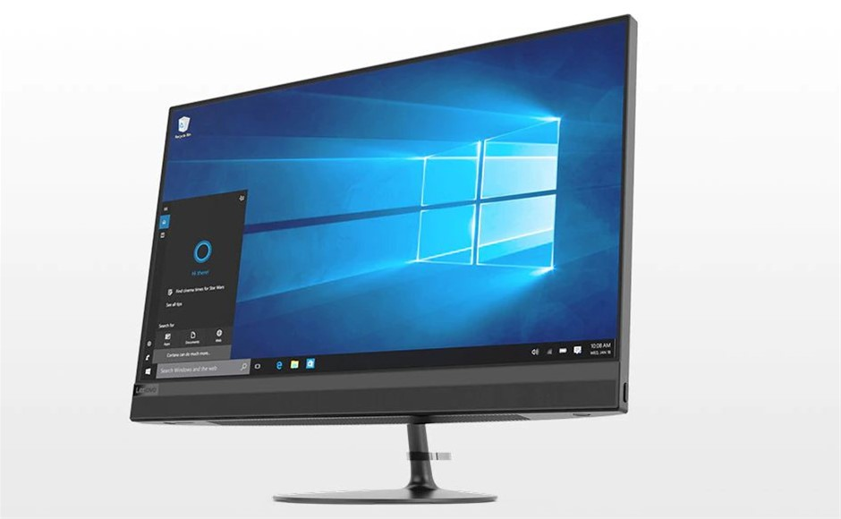 Lenovo IdeaCentre 520-24ARR 23.8-inch All-in-One PC, Black