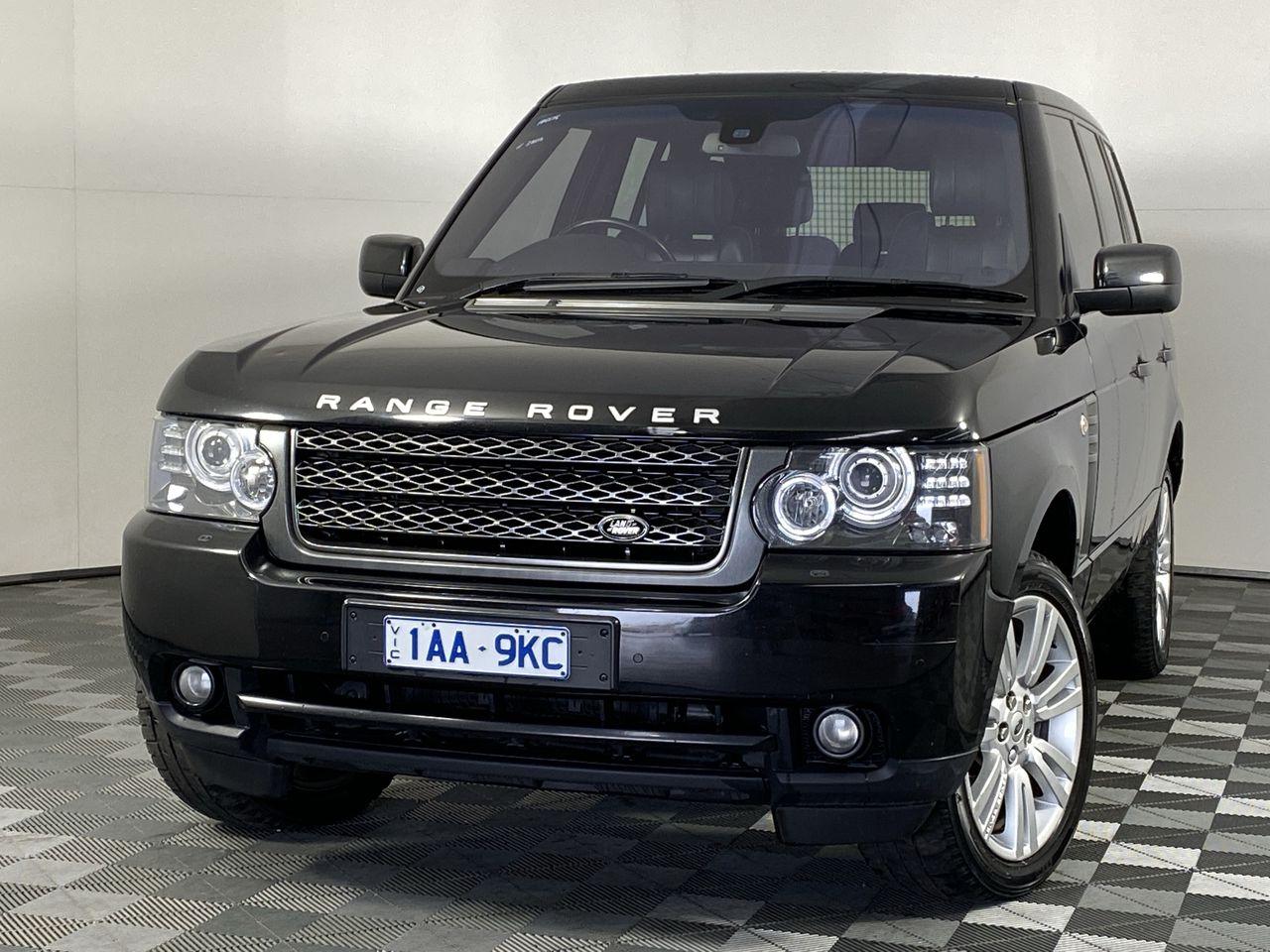 2011 Land Rover Range Rover Vogue TDV8 Luxury T/D Auto 8 Speed Wagon