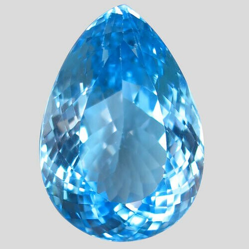 One Loose Blue Topaz, 22.88ct in Total